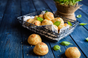 My Recipe for Goat Cheese Gougères